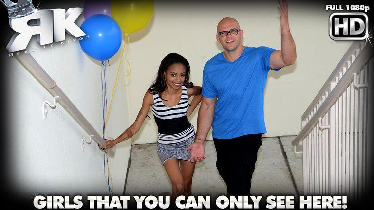8thstreetlatinas presents izabella in episode: Boobs and Balloons
