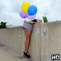 8thstreetlatinas izabella Boobs and Balloons