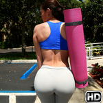 8thstreetlatinas presents mimii in episode: Yoga Booty