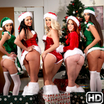 eurosexparties presents amarna in episode: Dirty Little Santas