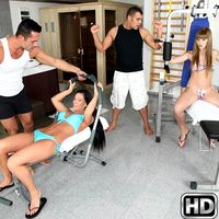 eurosexparties presents athina in episode: Bikini Love