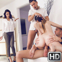 Carolina Abril in EuroSexParties.com
