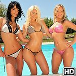 eurosexparties presents lana2 in episode: Pool Sex