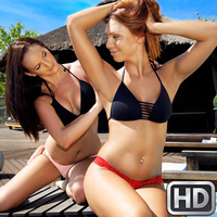 eurosexparties presents lanaornella091017 in episode: Sapphic Shower Sluts