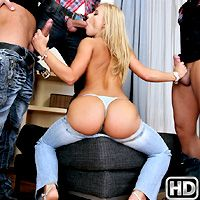 Yessica in EuroSexParties.com
