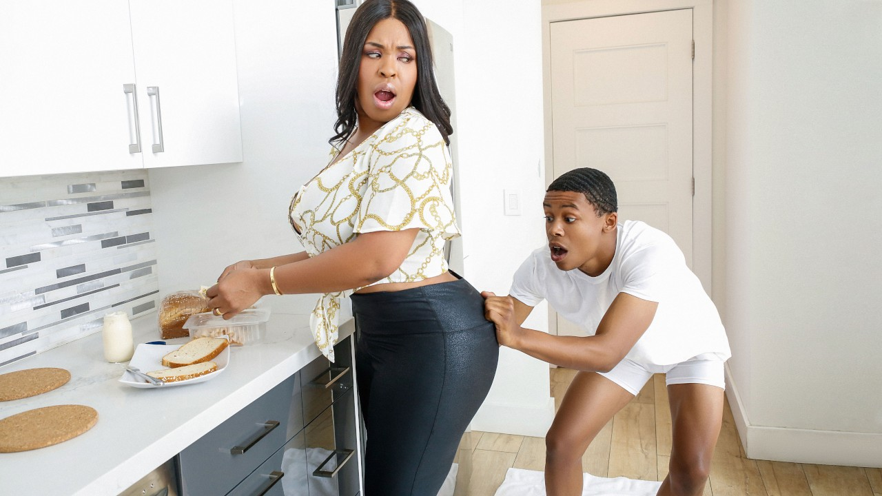 lilhumpers presents the-kitchen-humper-with-aryana-adin-lil-d in episode: The Kitchen Humper with Aryana Adin, Lil D