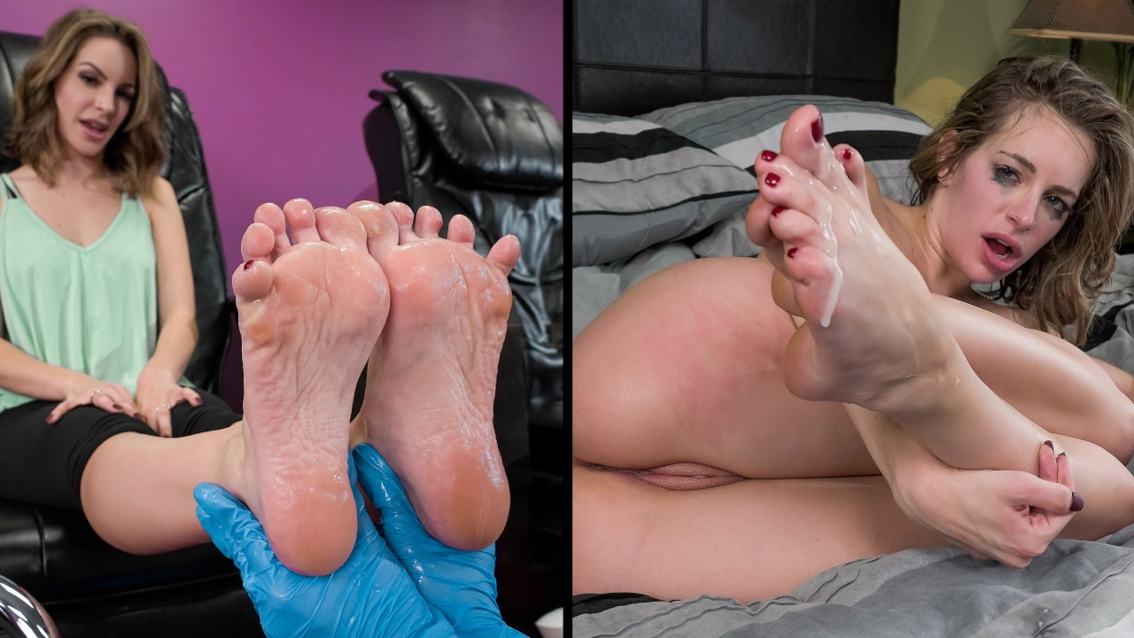 lookathernow presents pedicure-her in episode: Pedicure Her