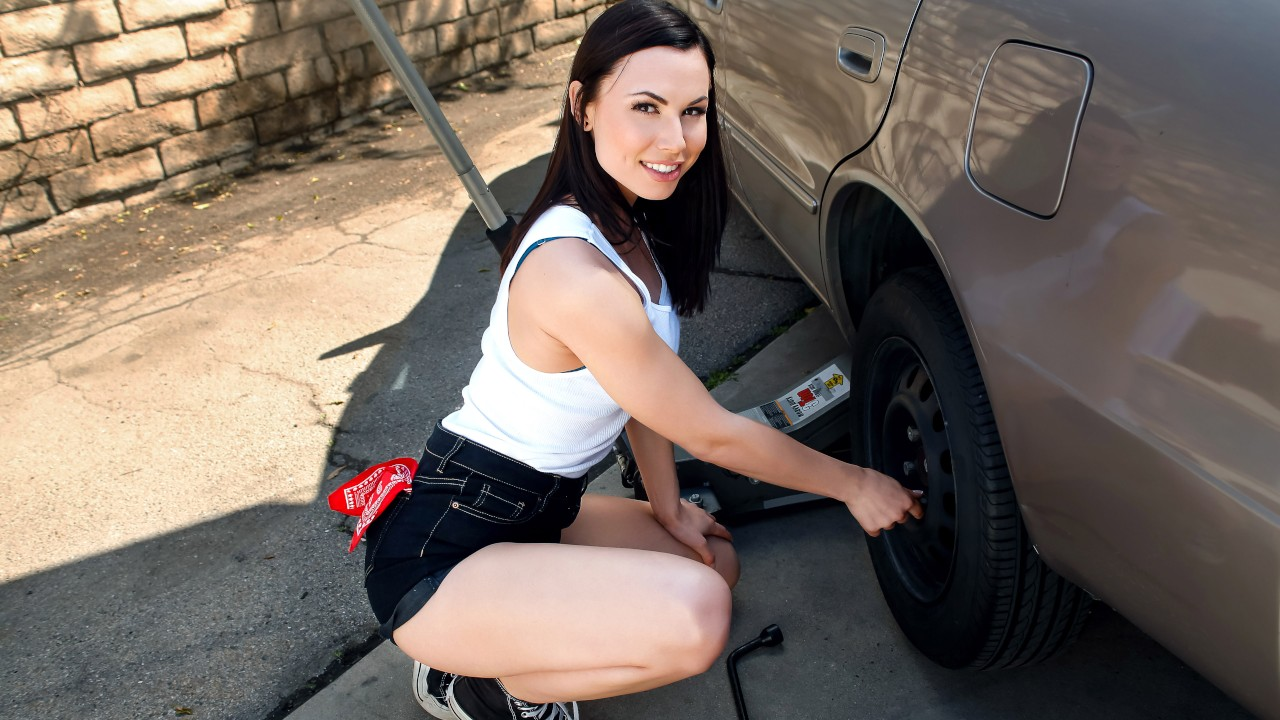 lookathernow presents rotating-her-tires in episode: Rotating Her Tires