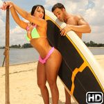 mikeinbrazil presents leeticia in episode: Beach Sex
