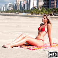 mikeinbrazil presents melissafire in episode: Beach Wonder
