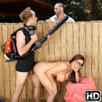 milfhunter ariella2 Backyard Banging