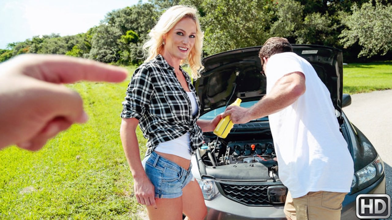 milfhunter presents oil-change in episode: Oil Change