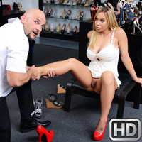 milfhunter presents oliviaaustin080717 in episode: Shoe Fetish