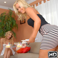Krystal Carrington & Brianna Ray in milfnextdoor episode: Make Out Moms