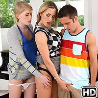 momsbangteens presents allie in episode: Teaching Teens