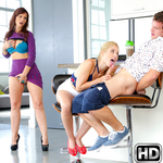 momsbangteens presents goldie in episode: Deep Trouble