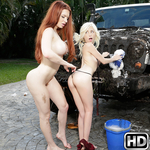 momslickteens presents veronica2 in episode: At The Car Wash