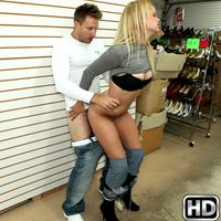 moneytalks presents jessy in episode: Ass Shopping