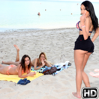 moneytalks presents milablaze in episode: Beach Bum