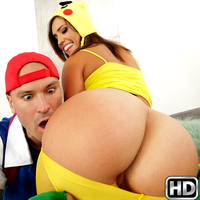 monstercurves presents kelsi5 in episode: Poke Em Xxx Parody