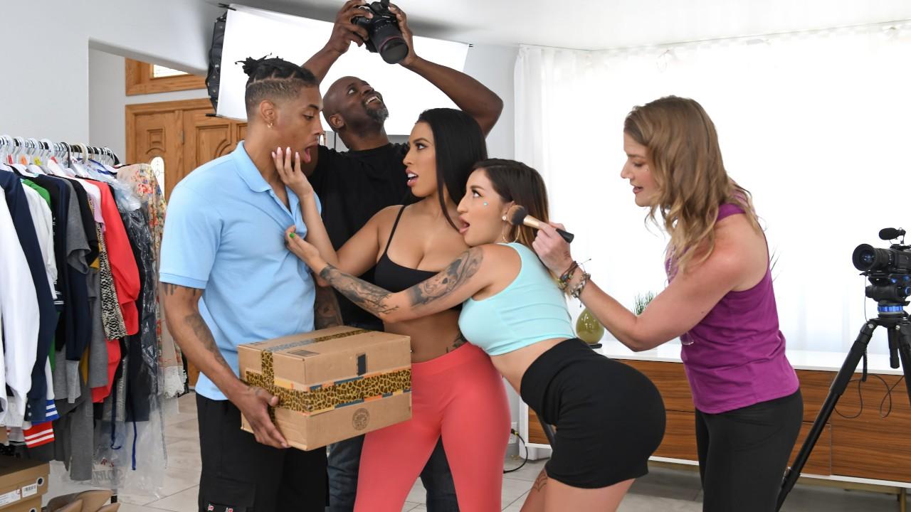 rkprime presents delivering-on-a-porno-set in episode: Delivering On A Porno Set