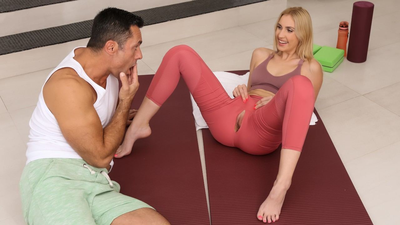 rkprime presents stretching-my-roommate in episode: Stretching My Roommate