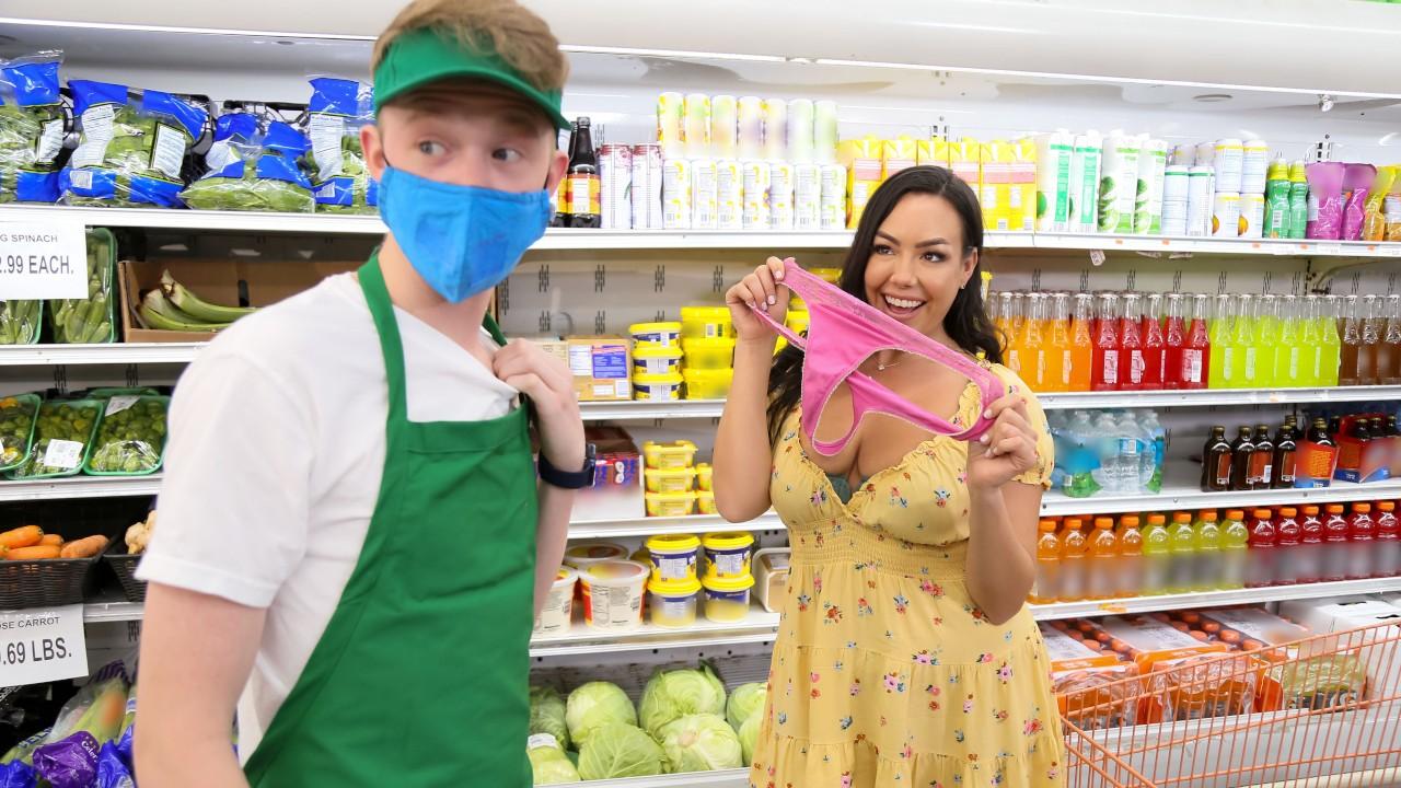 rkprime presents supermarket-slut in episode: Supermarket Slut