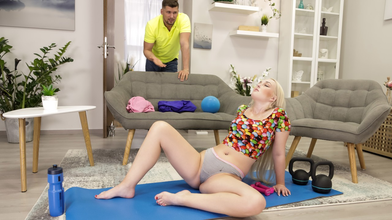 rkprime presents turning-up-the-heat-for-her-workout in episode: Turning Up The Heat For Her Workout