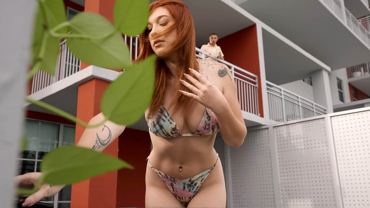 rkprime presents yoga-babe-punishes-the-peeper in episode: Yoga Babe Punishes the Peeper