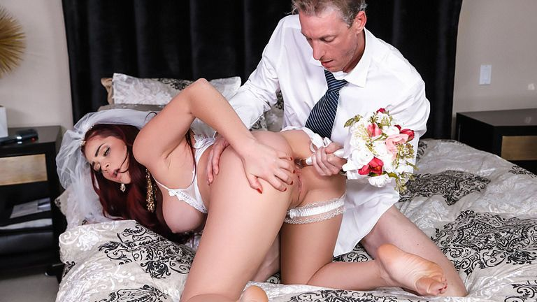 rkprime presents skylanovea062018 in episode: The Cum Spattered Bride