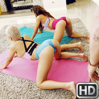 roundandbrown presents aaliyahhadid022318 in episode: Yoga Assistant