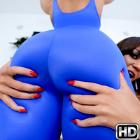 roundandbrown presents avasanchez in episode: Onesie Threesome