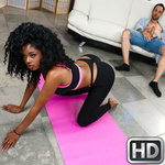 roundandbrown presents lalacamille090117 in episode: Naked Yoga