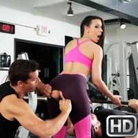 sneakysex presents rachelstarr071517 in episode: Gym And Pussy Juice