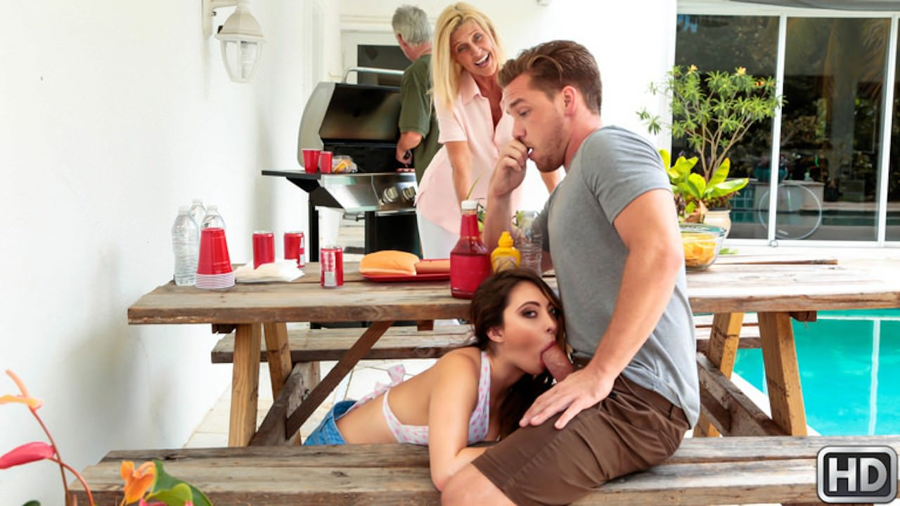 sneakysex presents cumming-to-the-cookout in episode: Cumming To The Cookout