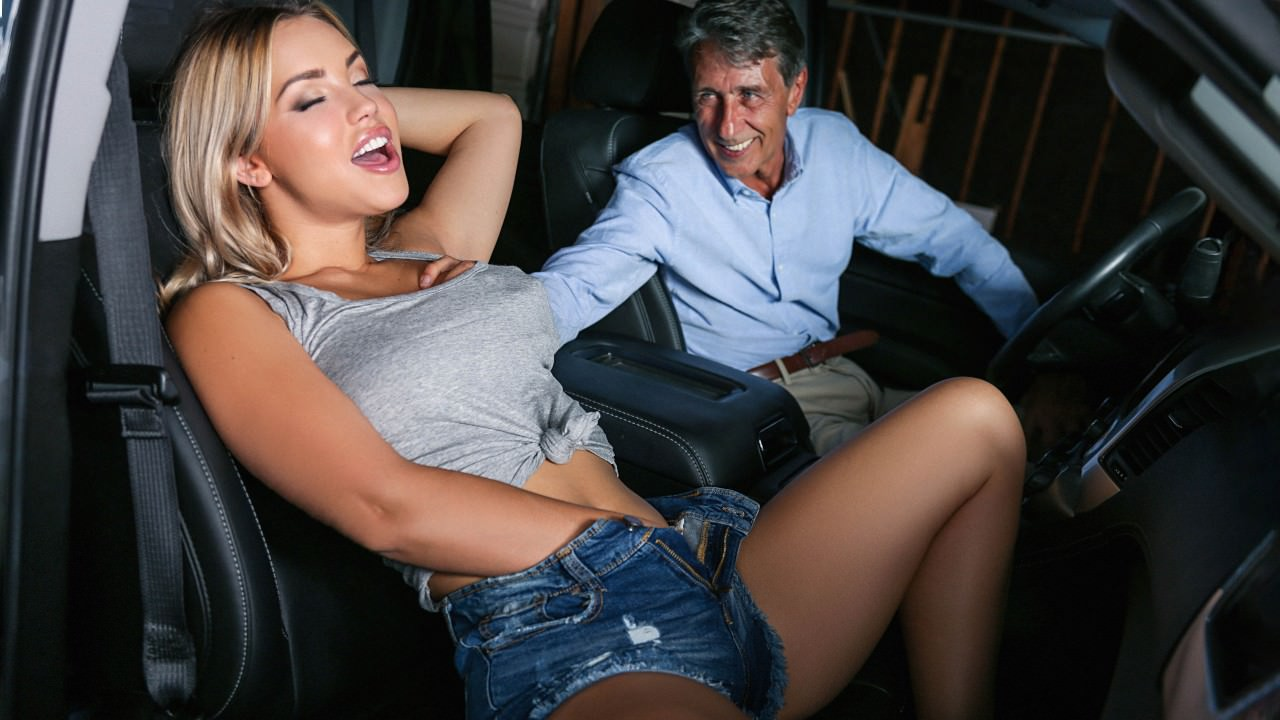 sneakysex presents its-your-turn-to-drive-the-sitter-home in episode: It's Your Turn to Drive the Sitter Home
