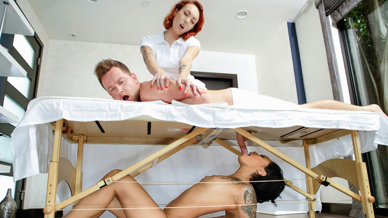 sneakysex presents massage-revenge-fuck in episode: Massage Revenge Fuck