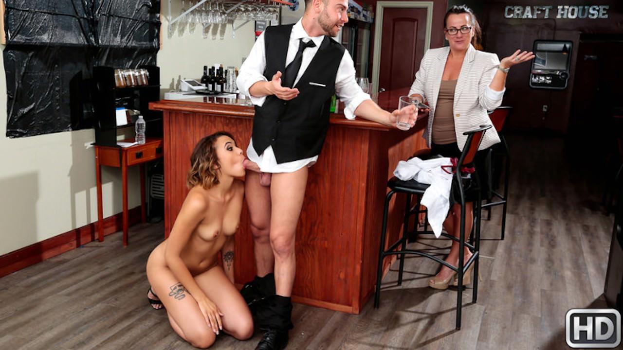 sneakysex presents wet-bar in episode: Wet Bar