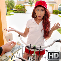 streetblowjobs presents lylaletto112617 in episode: Delivery Service Slut