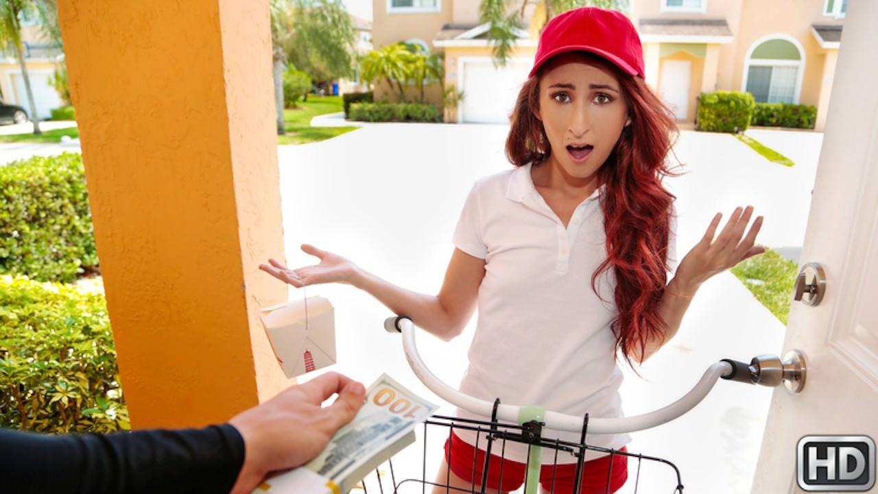 streetblowjobs presents delivery-service-slut in episode: Delivery Service Slut