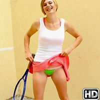 streetblowjobs presents tracy in episode: Tennis Titties