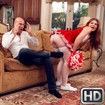 teenslovehugecocks presents hunterrose100717 in episode: My Stepdaughter The Cheerleader