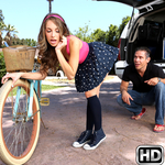 teenslovehugecocks presents kimmygranger in episode: Bikes And Buttplugs