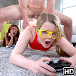 teenslovehugecocks presents vannessa2 in episode: Nerdy Gamer Hotties