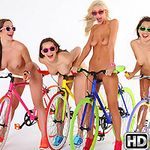 welivetogether presents dani5 in episode: Bikes and Broads