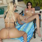 Pic of kiley in welivetogether episode: licking lessons
