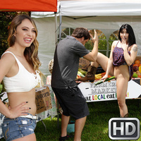 welivetogether presents rinaquinn092617 in episode: Farmers Market Sluts